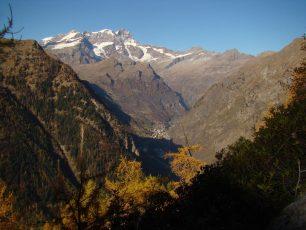 Alagna Valsesia e il Monte Rosa