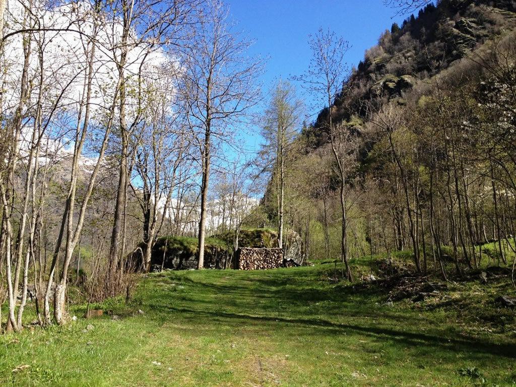 sentiero in d'Schenine