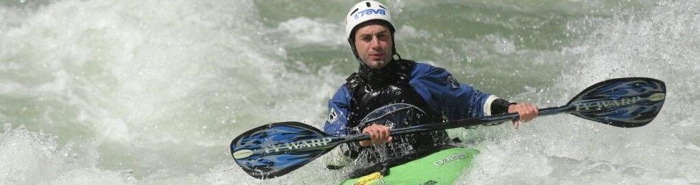il fiume Sesia canoa