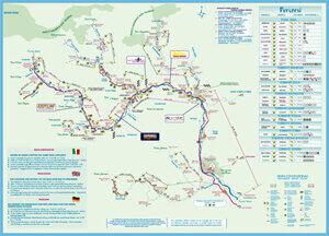 la mappa fluviale