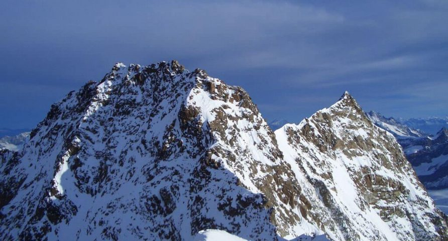 Climb to the Dufour peak