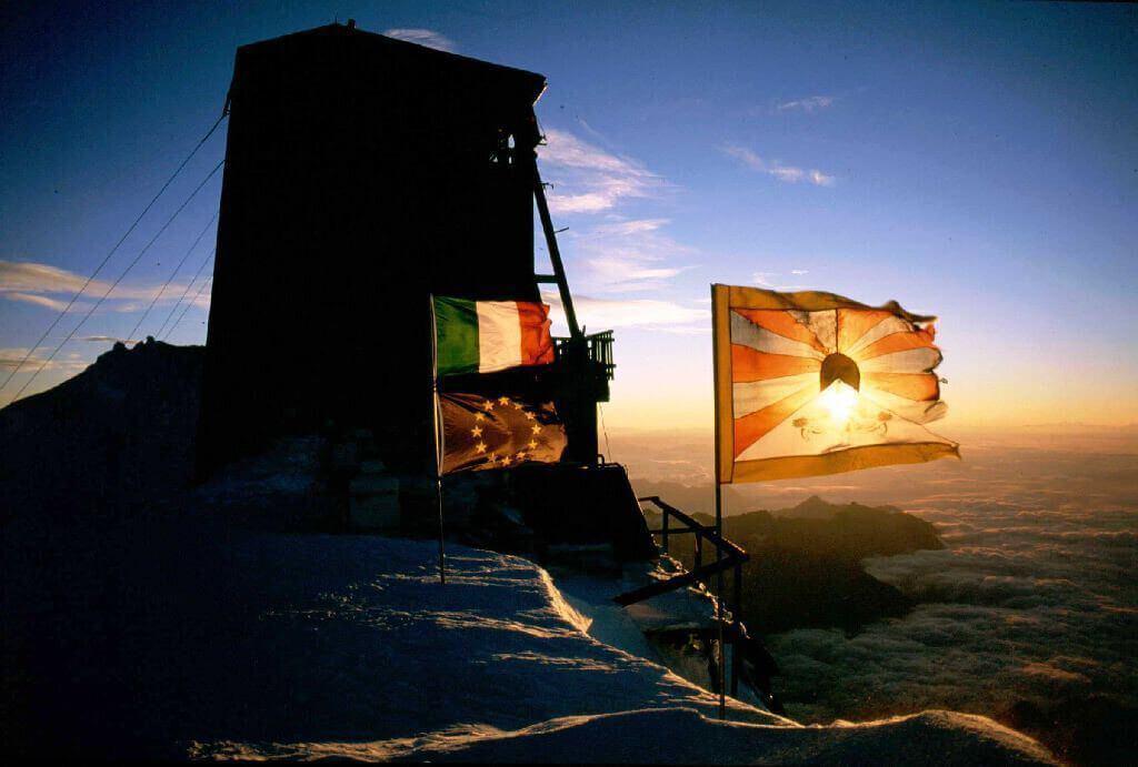 Alpinismo Capanna Margherita 4554 metri