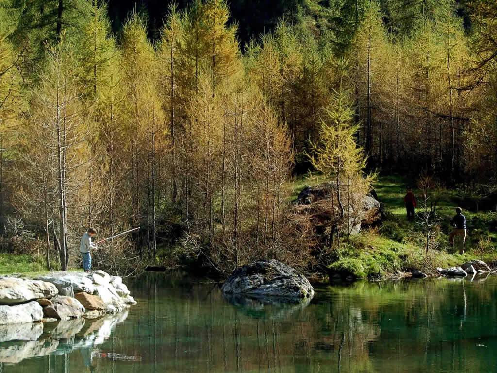 Pesca sportiva Alagna Valsesia