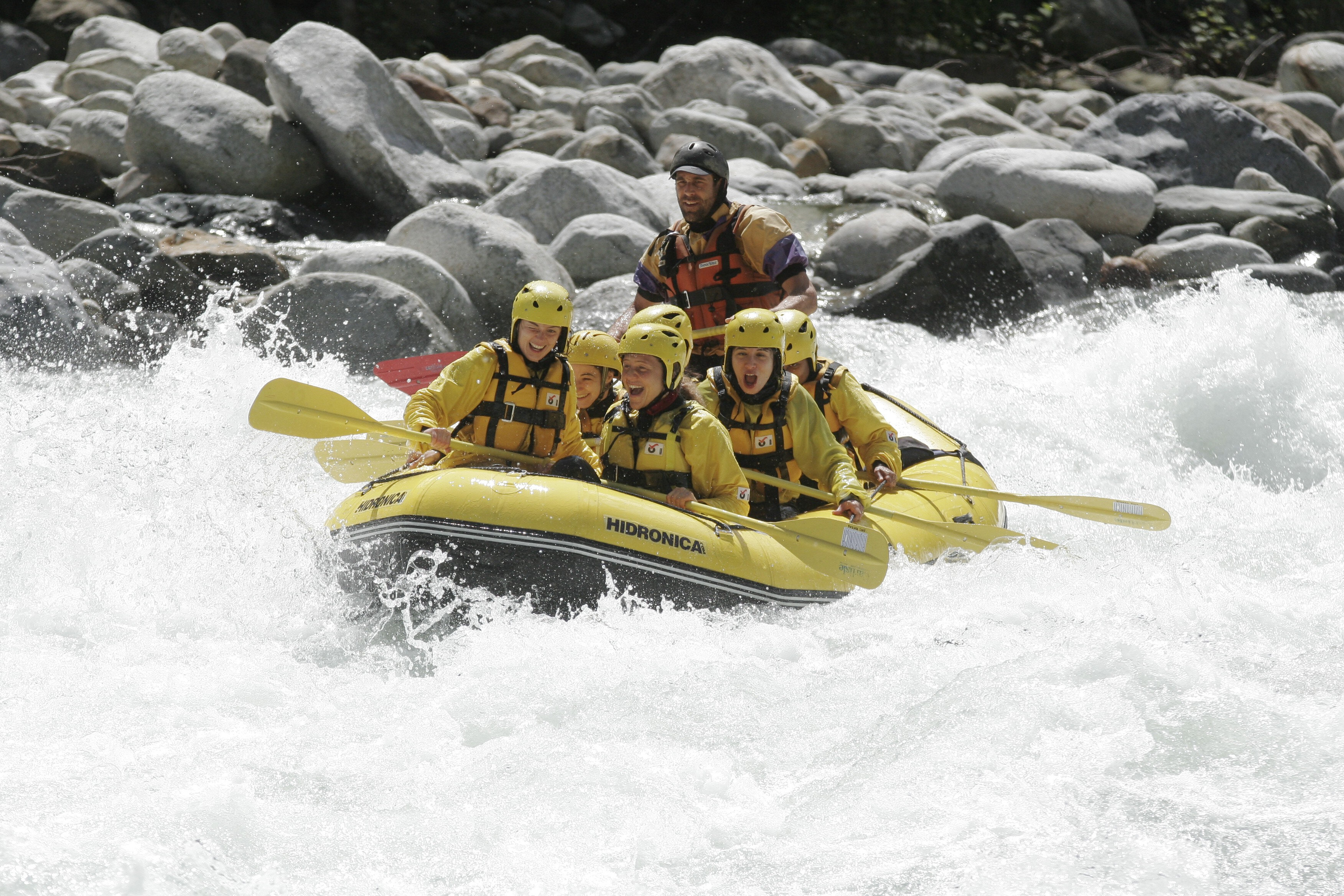 Rafting Sesia Valley (Valsesia)