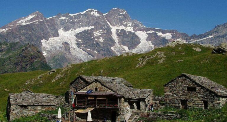 Rifugio alpe campo alagna valsesia