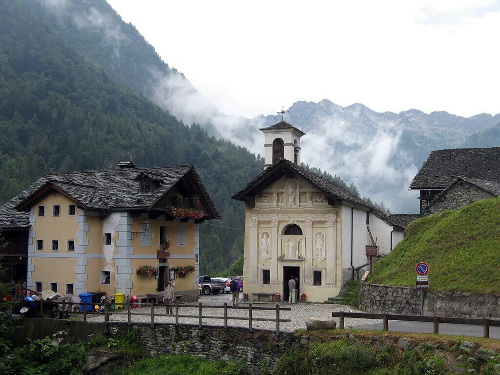 Refuge Valle Vogna