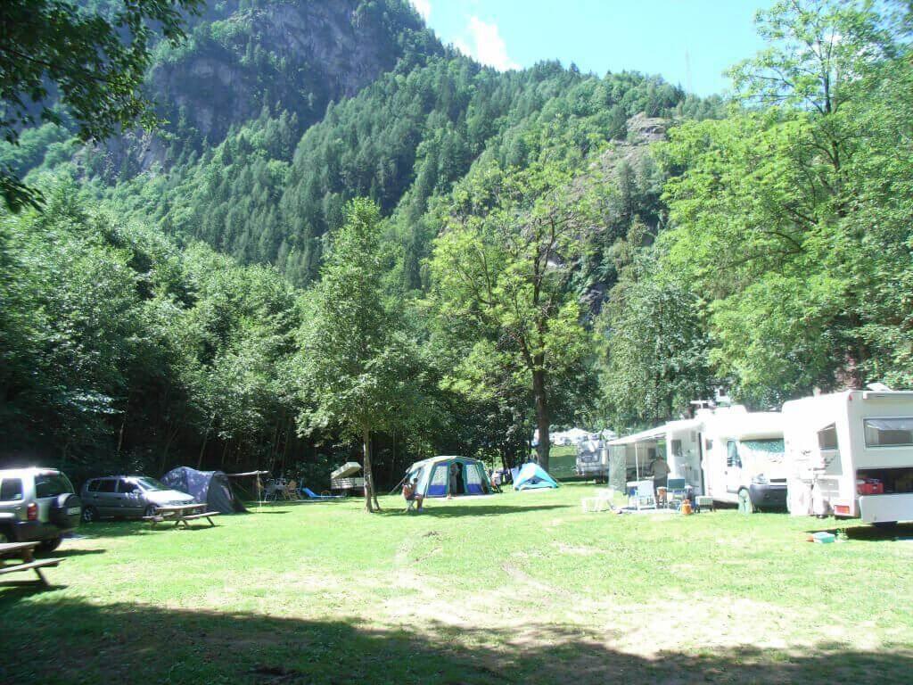 Campground Alagna