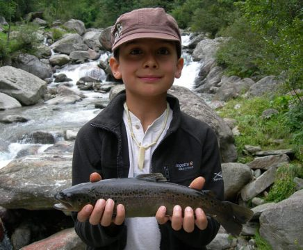 Springs of the Sesia river fishing week