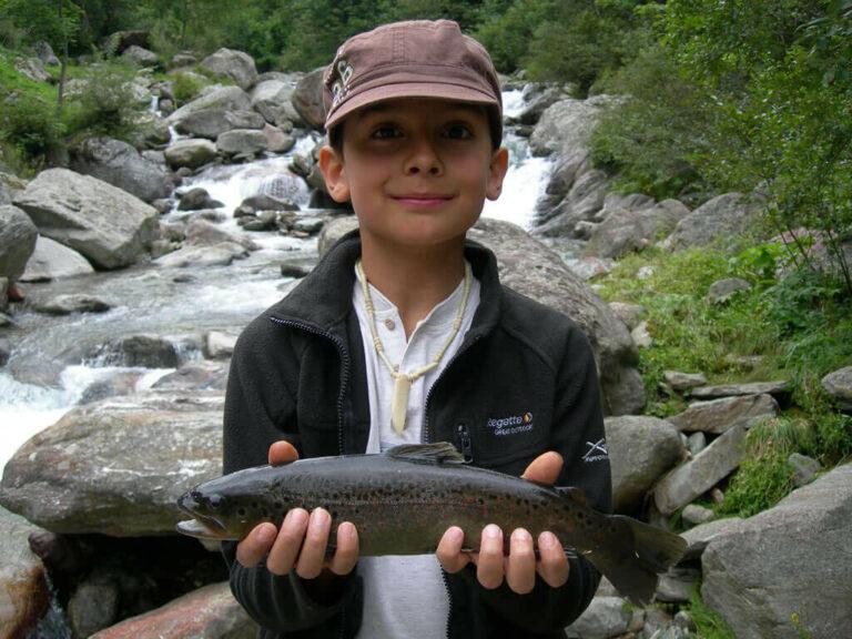 Springs of the Sesia river fishing week