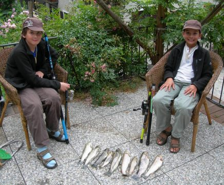 Sesia river great fishing week