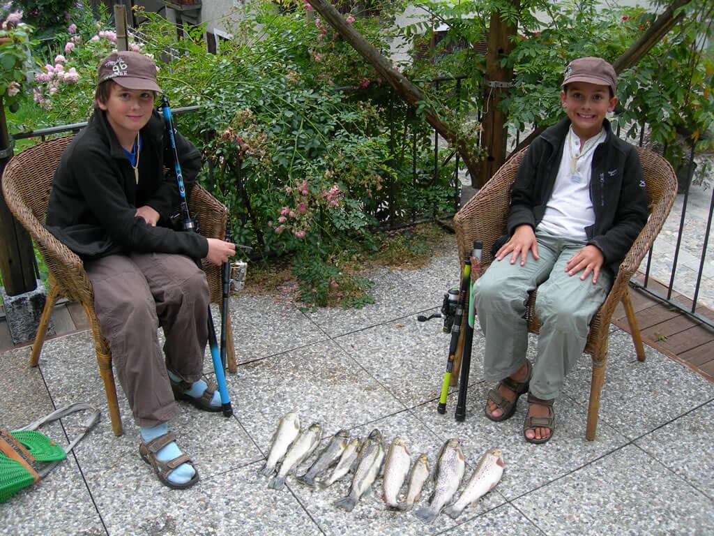 Pesca alla trota marmorata