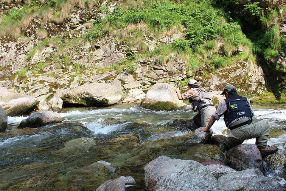 Fishing in Valsesia