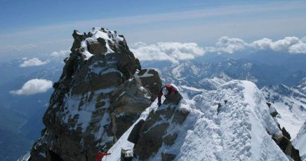 Dufour peak