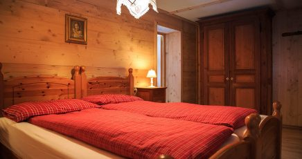 Baita Bonda bedroom
