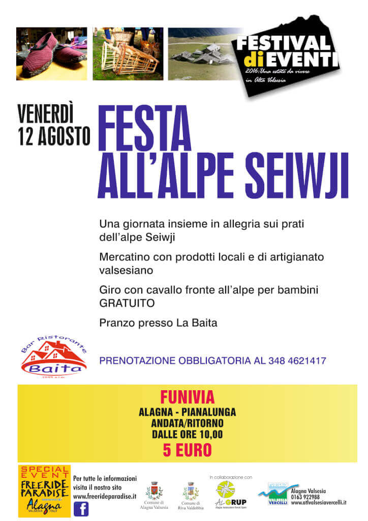 Festa all'Alpe Seiwji