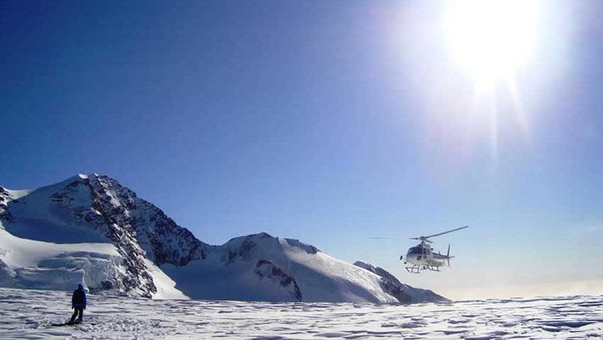 Freeride con elicottero