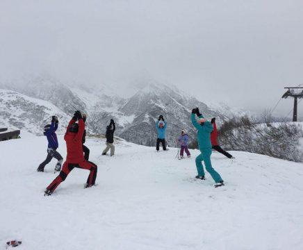Snow Yoga