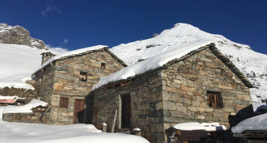 Baita all'Alpe Sewij Alagna