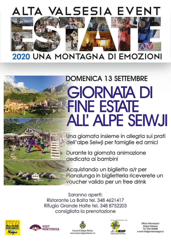 Festa fine estate 2020 alagna