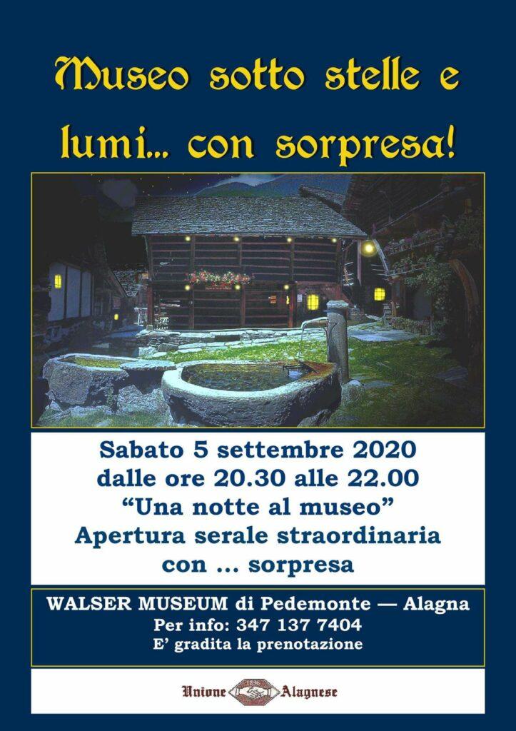 museo sotto le stelle Alagna