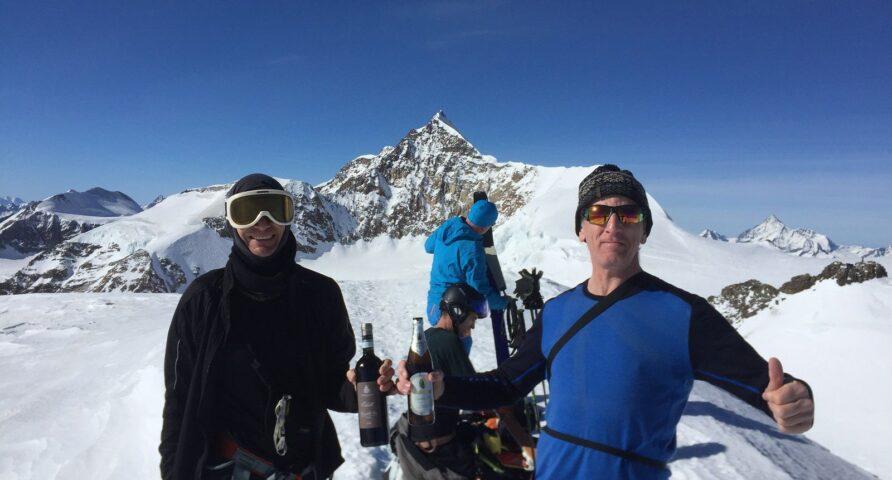 scialpinismo alla Piramide Vincent