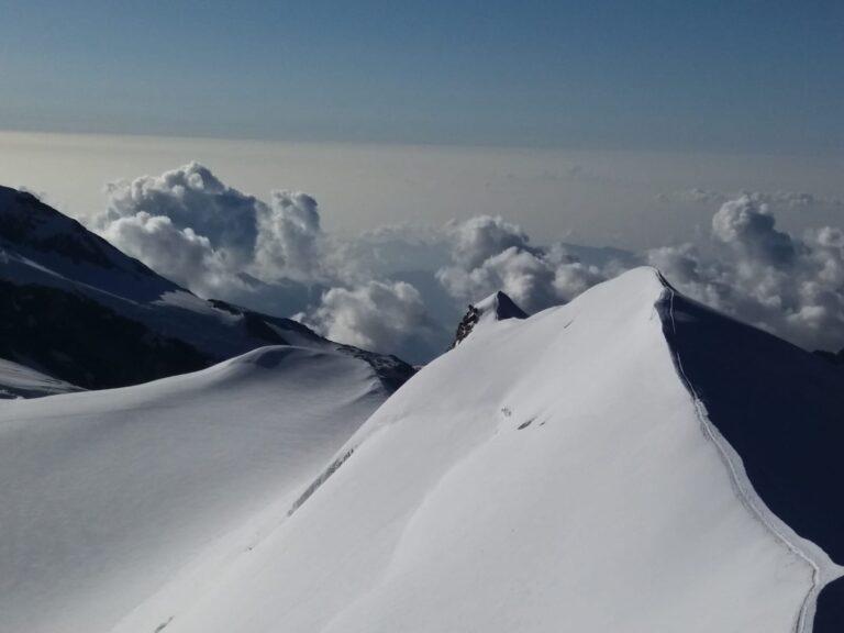 Ski mountaineering Castore ridge