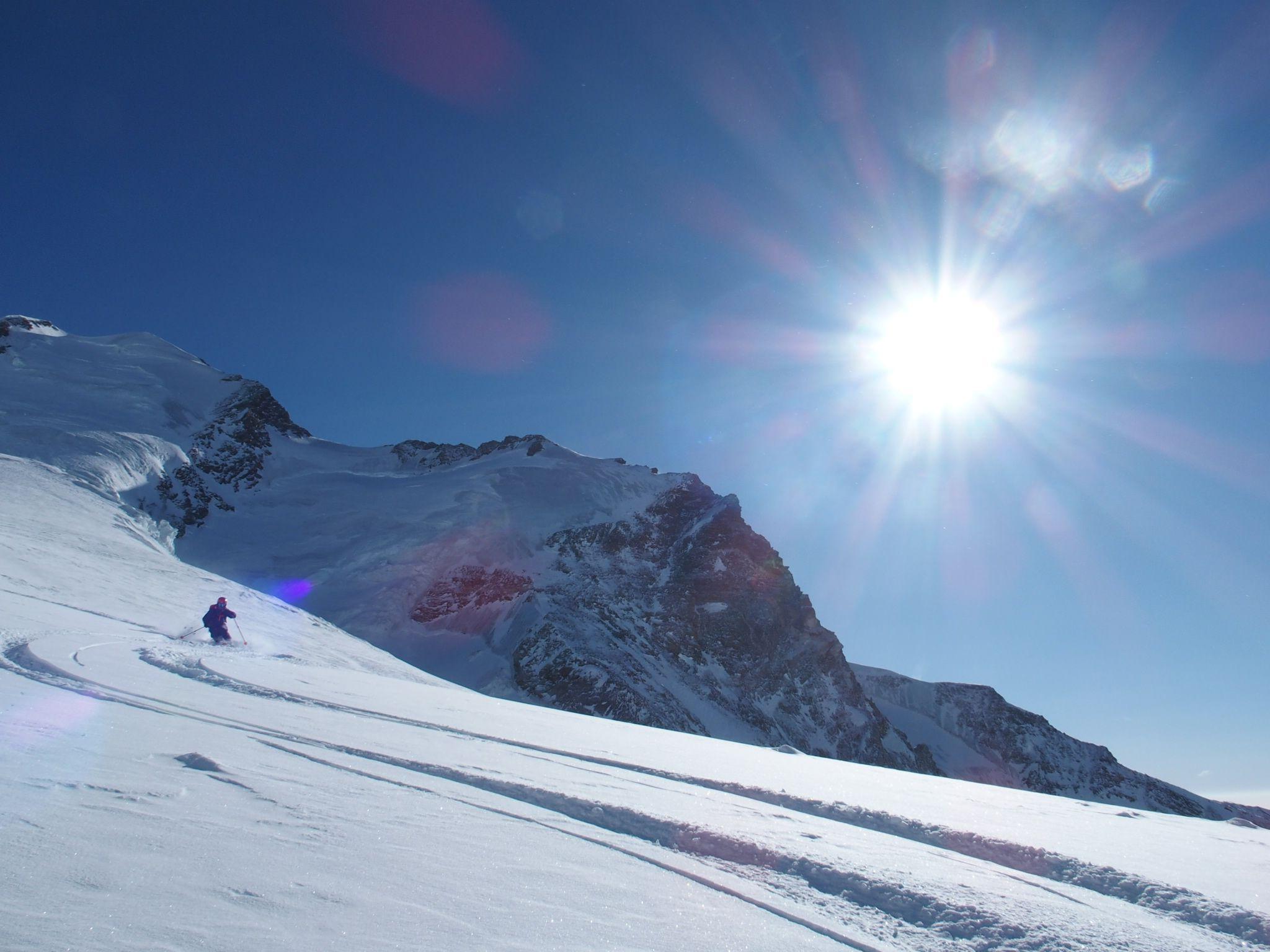 scialpinismo monterosa Italy